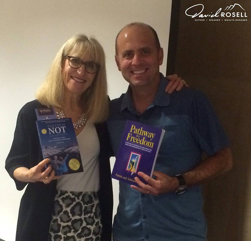 David with author and strategic coach Adrienne Duffy