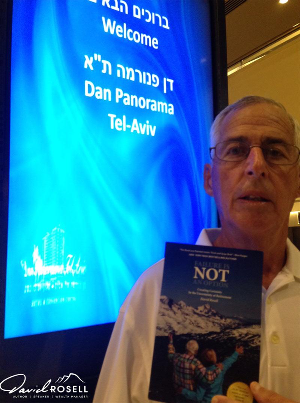 Gearge Cohen in Tel Aviv, Isreal
