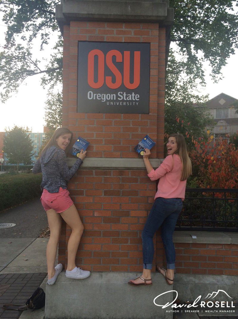 Jerika and Jayden at OSU